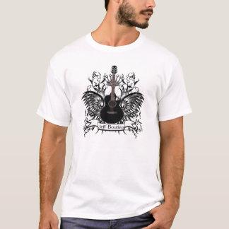 Der Gitarren-Männer Jeff Boutiea der T - Shirt