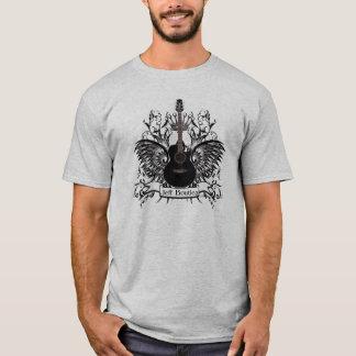 Der Gitarren-Männer Jeff Boutiea der T - T-Shirt