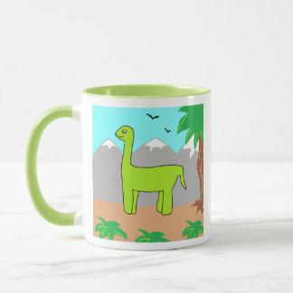 Der glückliche Dinosaurier Tasse