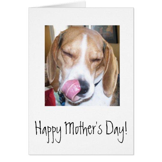 Der glückliche Tag der Mutter Karte