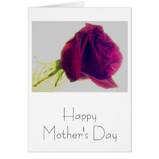 Der glückliche Tag der Mutter Mitteilungskarte
