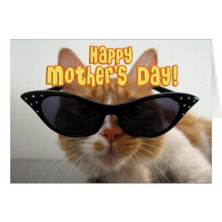 Der glückliche Tag der Mutter - Stiefmutter-coole Karte