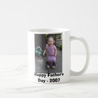 Der glückliche Vatertag - 2007 Tasse