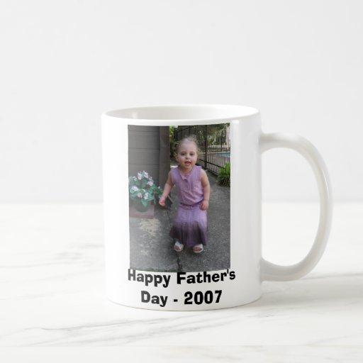 Der glückliche Vatertag - 2007 Kaffeetassen