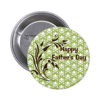 Der glückliche Vatertag Runder Button 5,7 Cm
