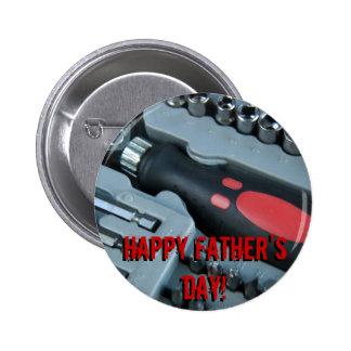 Der glückliche Vatertag! Anstecknadel