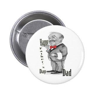 Der glückliche Vatertag Buttons