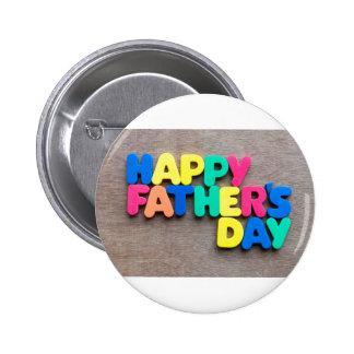 Der glückliche Vatertag Anstecknadelbuttons