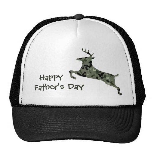 Der glückliche Vatertag: Camouflage-Rotwild Retrokult Cap