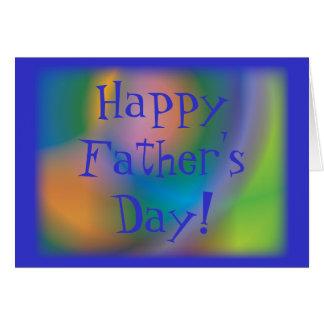 Der glückliche Vatertag! - Fertigen Sie besonders Karte