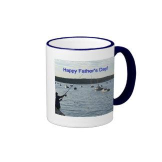 Der glückliche Vatertag, Fischer Kaffeetassen