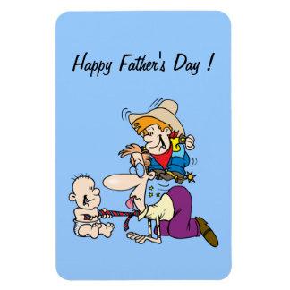 Der glückliche Vatertag! - Flexible Magnete