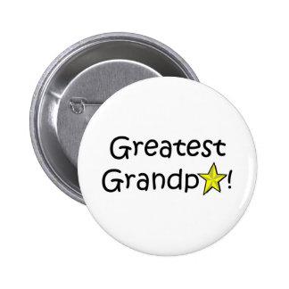Der glückliche Vatertag, Großvater! Runder Button 5,7 Cm