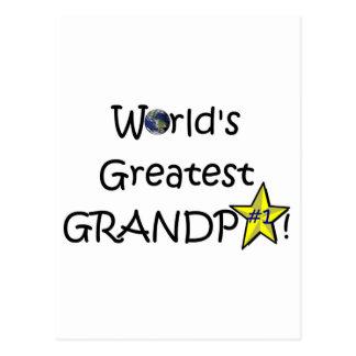 Der glückliche Vatertag, Großvater! Postkarten