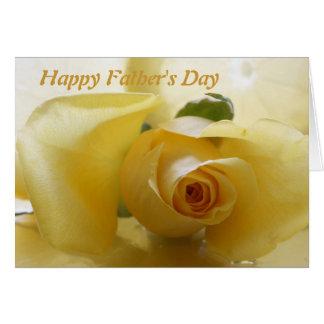 Der glückliche Vatertag Grußkarte