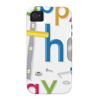 der glückliche Vatertag iPhone 4/4S Case