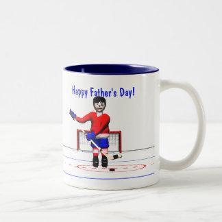 Der glückliche Vatertag Hockey-
