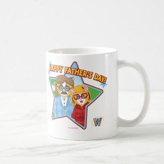 Der glückliche Vatertag! Kaffeetasse