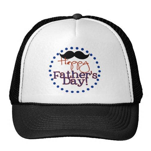 der glückliche Vatertag Baseball Kappen
