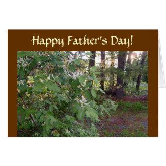 Der glückliche Vatertag! Karte
