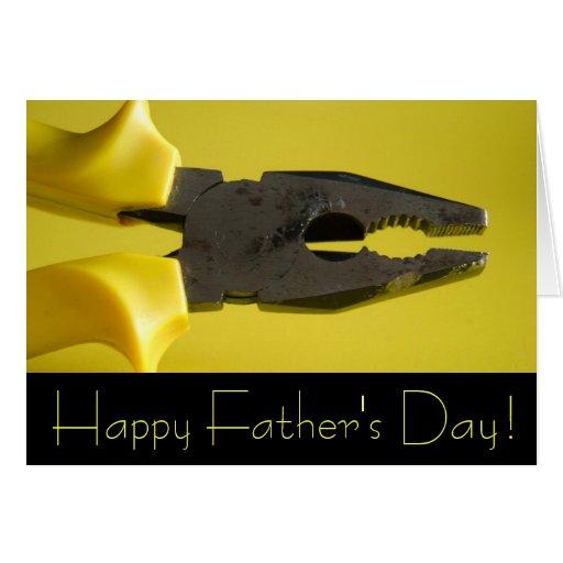 Der glückliche Vatertag! Grußkarten