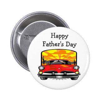 Der glückliche Vatertag - Knopf Anstecknadelbuttons