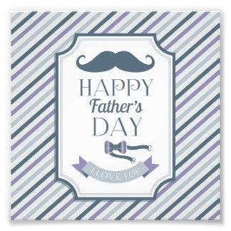 Der glückliche Vatertag Kunstphoto