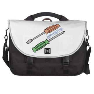 Der glückliche Vatertag Notebook Tasche