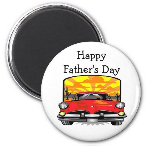 Der glückliche Vatertag - Magnet Kühlschrankmagnete
