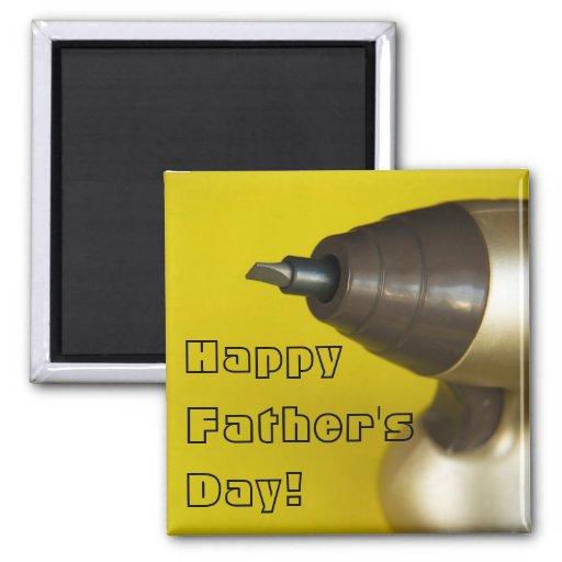 Der glückliche Vatertag! Kühlschrankmagnet
