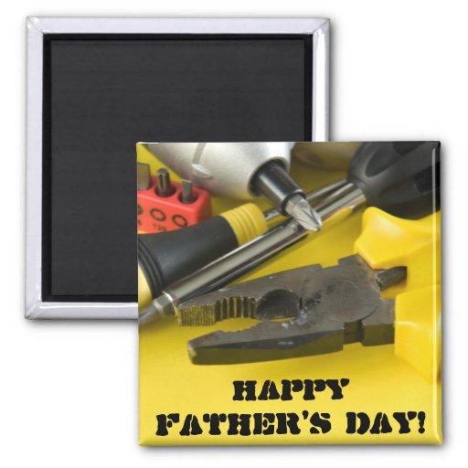 Der glückliche Vatertag! Magnete