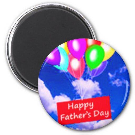 Der glückliche Vatertag Magnets