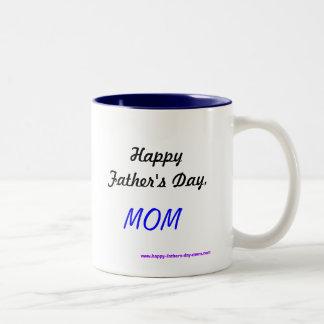 Der glückliche Vatertag, MAMMA Zweifarbige Tasse