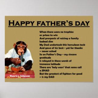 Der glückliche Vatertag - Plakat