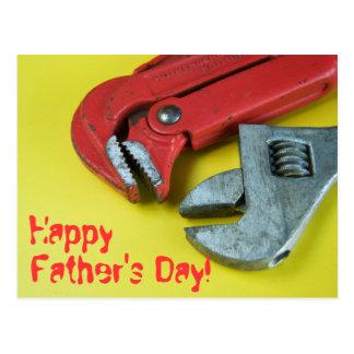 Der glückliche Vatertag! Postkarten