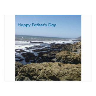 Der glückliche Vatertag Postkarten