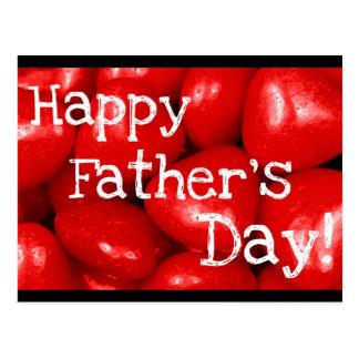 Der glückliche Vatertag! Postkarte