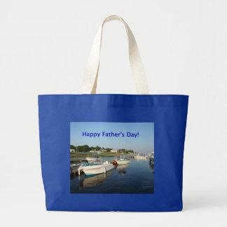 Der glückliche Vatertag, Reflexionen auf dem Fluss Taschen