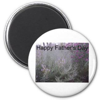 Der glückliche Vatertag Runder Magnet 5,1 Cm