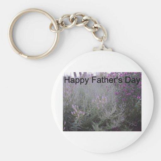 Der glückliche Vatertag Schlüsselanhänger