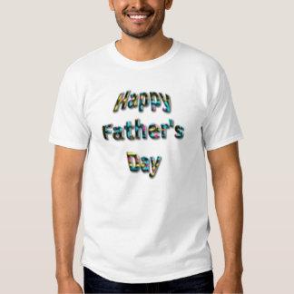 Der glückliche Vatertag T-shirts