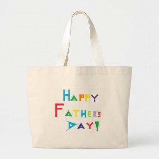 Der glückliche Vatertag Einkaufstaschen
