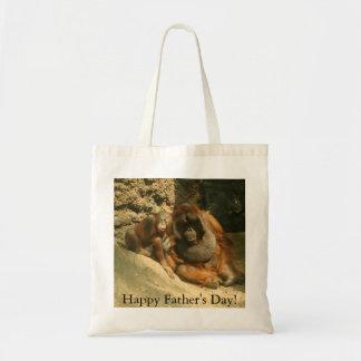 Der glückliche Vatertag! Einkaufstaschen