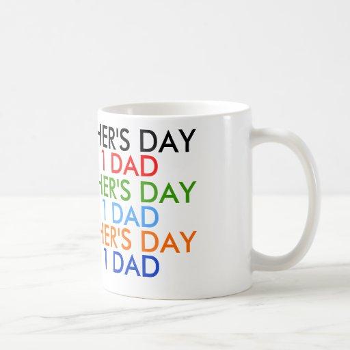 """Der glückliche Vatertag """"Tasse """""""