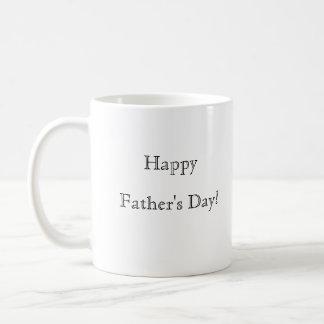 Der glückliche Vatertag! Tasse