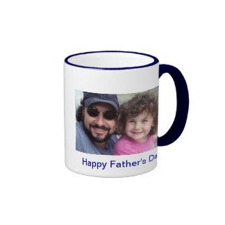 Der glückliche Vatertag Ringer Tasse