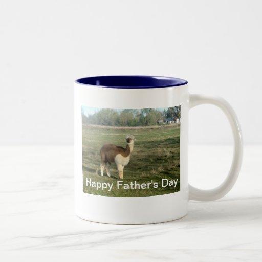 Der glückliche Vatertag Kaffeetassen