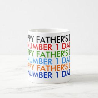"""Der glückliche Vatertag """"Tasse """" Tasse"""