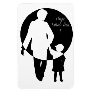 Der glückliche Vatertag! - Vinyl Magnete