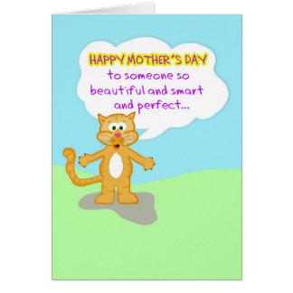 Der glücklichen Mutter, die Tag-Hart ist, Ihnen zu Karte